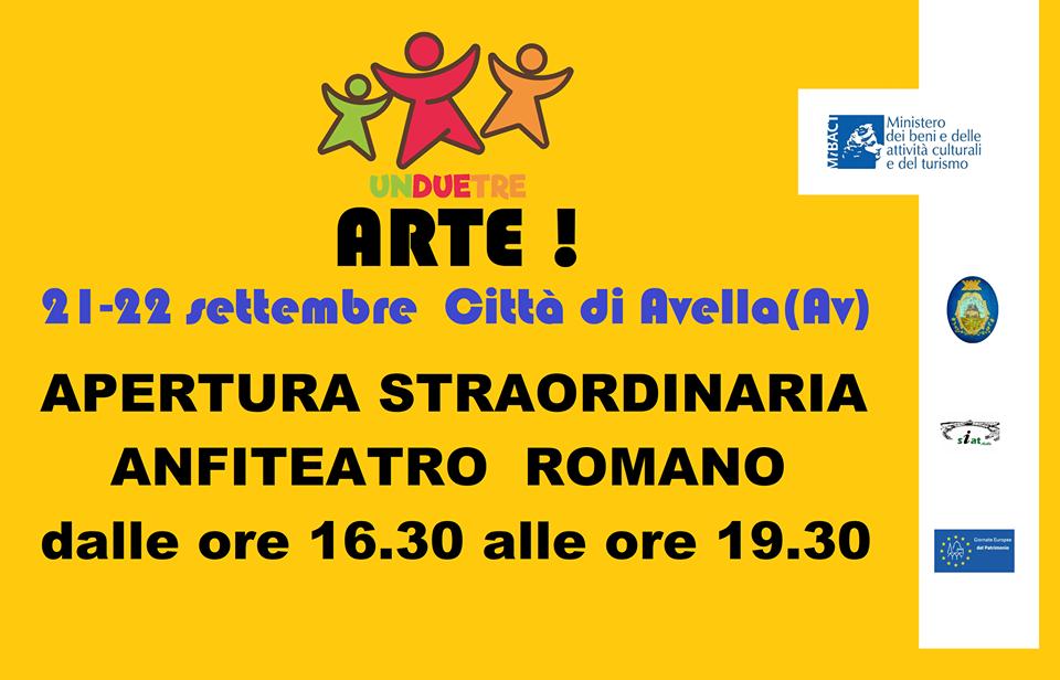 Giornate Europee del Patrimonio, visite all'Anfiteatro di Avella