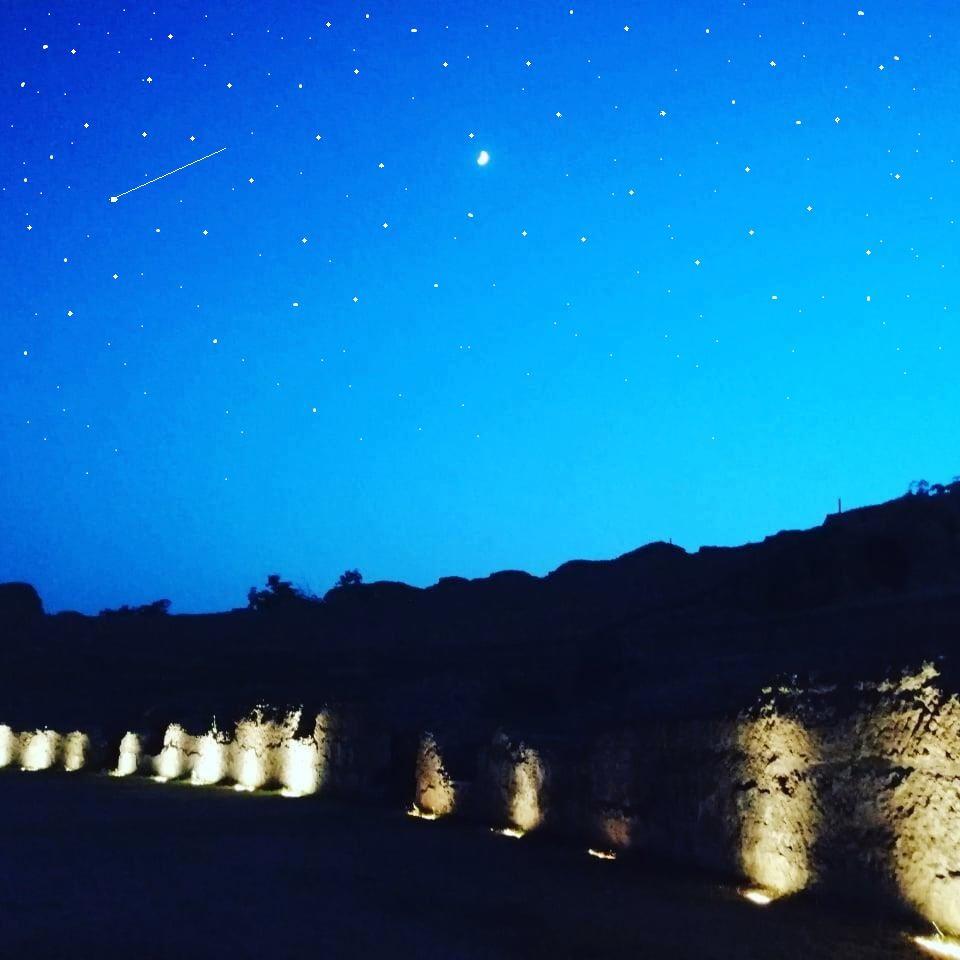 Notte delle stelle cadenti ad Avella nel cuore della Campania il 10 agosto